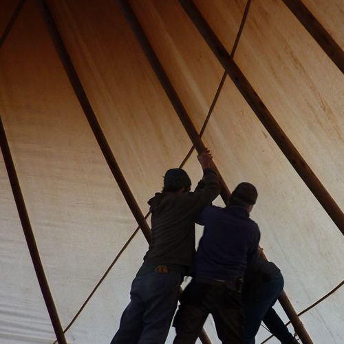 YOU TOO CAN BUILD YOUR OWN NAVAJO TIPI