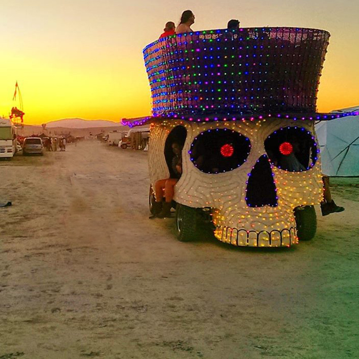 BURNING MAN 2014: MAKE IT RAIN