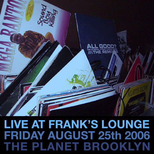 LIVE AT FRANK'S LOUNGE