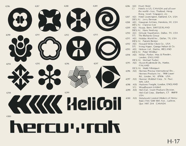 julian bevan 1970s logos julian bevan